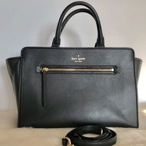 Kate Spade Black Medium Satchel